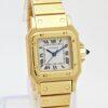 Cartier Santos 18k Gold Automatic Full Set